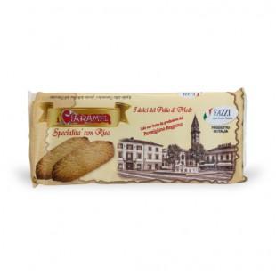 Biscotti al burro con riso